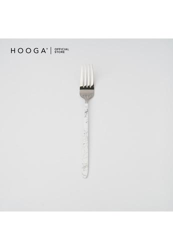 HOOGA white Hooga Table Fork Barton White (Bundle of 6) E9D66HL13DFA8FGS_1