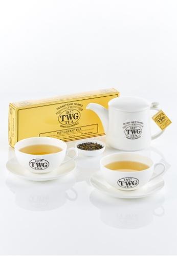 TWG Tea Pick Me Up Teabag Kit (1837 Green Tea) 096FAES88F896CGS_1