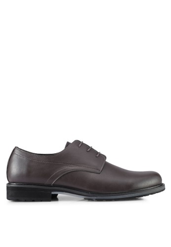 ZALORA brown Lace Up Dress Shoes 05690SH530903FGS_1