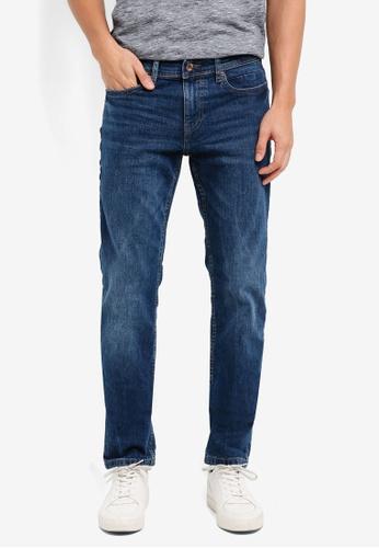 ESPRIT blue Denim Length Jeans 8FB32AAA49A67AGS_1