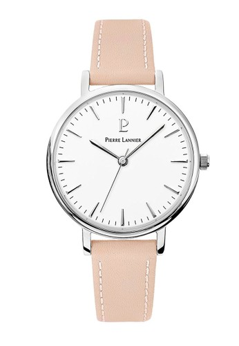 Pierre Lannier pink Pierre Lannier Watches - Jam Tangan Wanita- Leather - 089J615 (White) AE769AC14F22B8GS_1