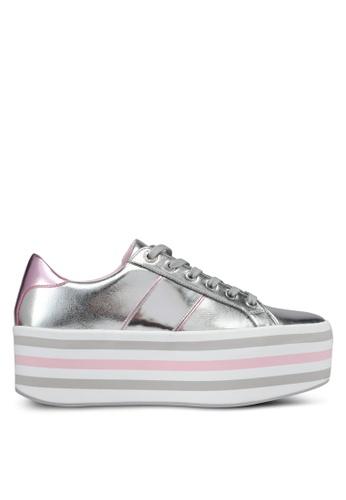 ALDO silver Nydoilia Fashion Athletics Sneakers 577ADSHF78B312GS_1