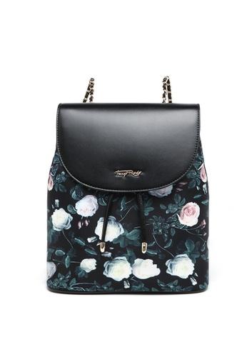 83fb97940d63 Fancy Rosy black Rosy Romance Floral Shoulder Bag 31C68AC0CAD59CGS 1