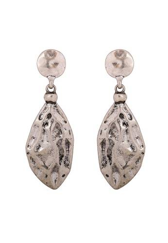 A-Excellence gold Bohemian Style in Silver Design Earrings 025E3AC96B2F14GS_1