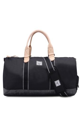 Herschel black Novel Duffle Bag 7AE78AC4181BF9GS_1