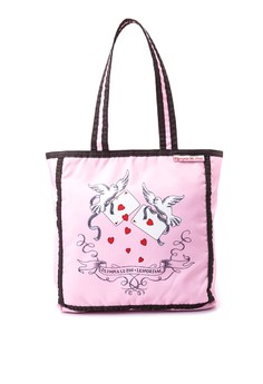 Small Olympia Tote in Ace of Hearts