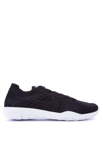 Nike black Women's Nike Free TR Flyknit 2 Training Shoes NI126SH0KPUOPH_1