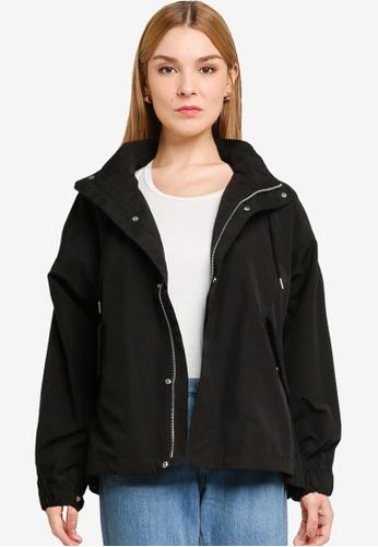LOWRYS FARM black Classic Hooded Jacket 40A7EAAB76B844GS_1