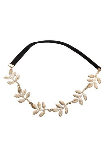 Gold Leaf Headband, 飾品配件, zalora開箱髮飾