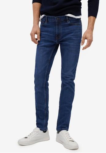 MANGO Man blue Skinny Dark Wash Jude Jeans AAEA0AA201A70EGS_1