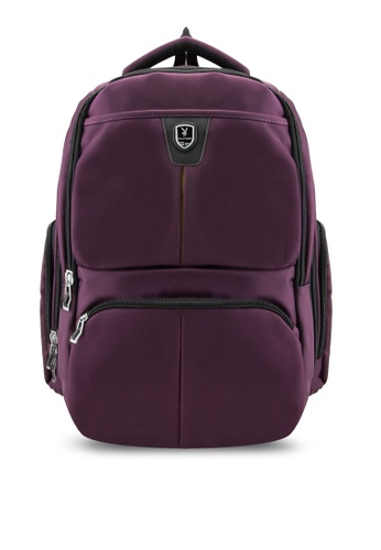 Playboy purple Playboy Laptop Backpack PL371AC83LYQMY_1