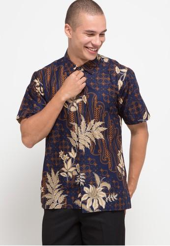 bhatara batik navy and brown Pandya C660FAAC5A3BE9GS_1