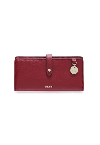 Dkny red DKNY Women Bifold Wallet - Spring & Summer 2021 B802CACBEC1558GS_1