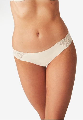 Cotton On Body beige Party Pants Seamless Brasiliano Panties CO561US22CNXMY_1