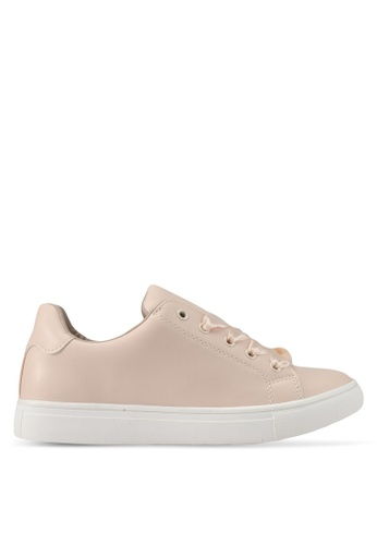 addicts anonymous beige Alexie Ribbon Tie Classic Sneakers AD479SH0SR5WMY_1