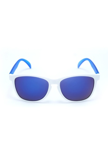 2i's to eyes white and blue 2i's Sunglasses - Bates 2I983AC07OYMHK_1