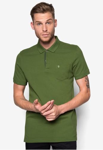 素色合身Pesprit home 台灣OLO 衫, 服飾, Polo衫