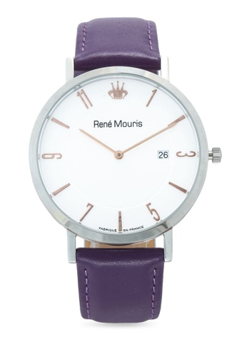 René Mouris purple and multi L'Emporter - 41mm Classic Quartz Watch 48BAEAC36CF4C3GS_1