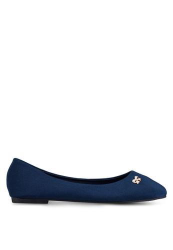 Mimosa blue Embellished Flats MI065SH0RSSOMY_1