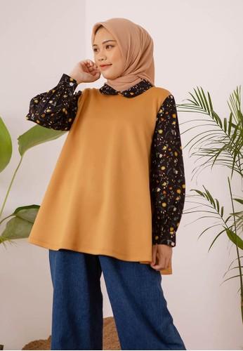 HijabChic yellow Lin Golden Yellow 17542AAAE2434EGS_1