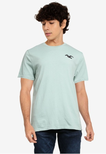 Hollister green Exploded Icon T-Shirt 1BC81AA54C0505GS_1