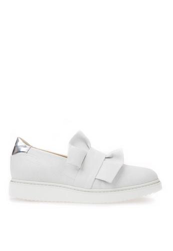 Geox white D THYMAR Sneaker 9A892SHD4C4584GS_1