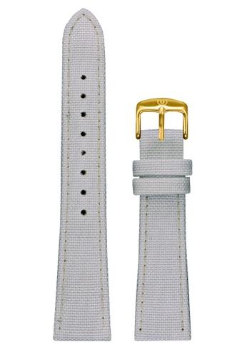 Undone white Undone White Cordura Strap 20mm (Gold Buckle) UN712AC2VEJEHK_1