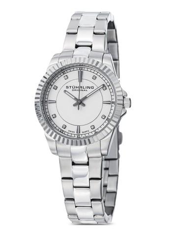 408LL 經典金屬圓框手錶, 錶類, 不銹esprit旗艦店鋼錶帶
