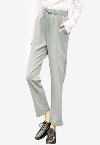 Tokichoi grey Tapered Pants 603C6AAA631520GS_1