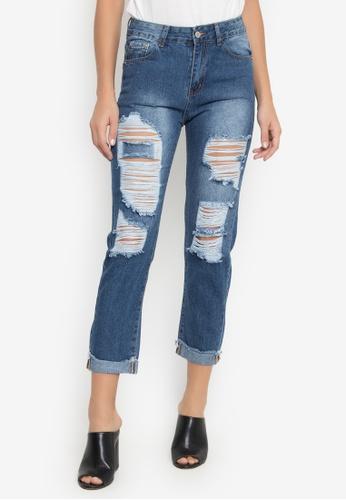 Balaynor blue Boyfriend Jeans 5A1C4AA4DB7CAFGS_1