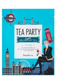 Tea Party Mask Sheet - English Breakfast (Firming)