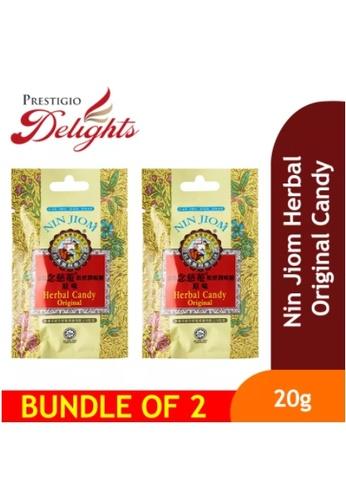 Prestigio Delights Nin Jiom Herbal Original Candy 8Pcs (20g) Bundle of 2 19B19ES2A74C3EGS_1