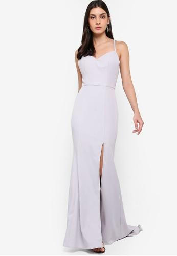 JARLO LONDON silver Xene Dress 46A64AA616DB2CGS_1