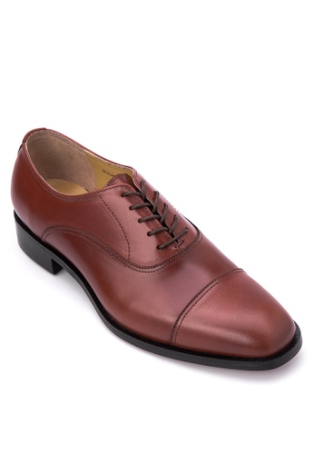 Bristol Shoes brown McCartney Brown Cap Toe Oxford BR842SH39XJGPH_1