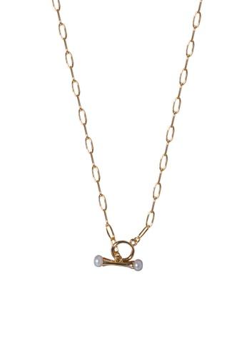 SKEDA gold Faith Necklace 17705ACC3BE357GS_1