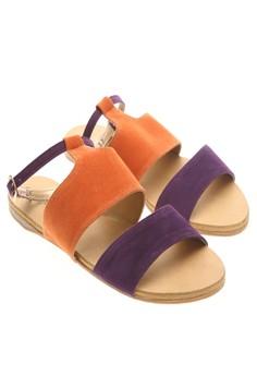 Wander Honolulu Sandals (Violet/Orange)