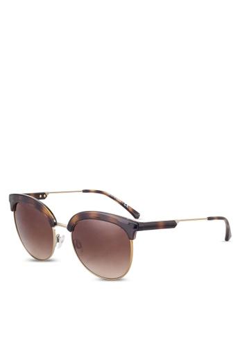 Emporio Armani brown Tortoise Shell EA4102 Sunglasses EM212GL61QUGMY_1