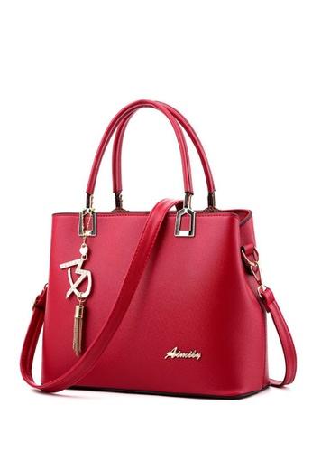 TCWK red Ladies Handbag TC258AC64YLFMY_1