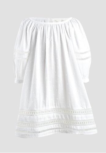 Tili Dahli white Wind Dress (Baby) 70DD3KA37EFA74GS_1