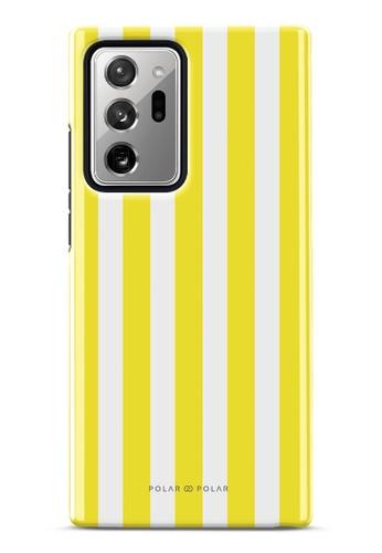Polar Polar yellow Yellow Stripe Dual-Layer Tough Case Glossy For Samsung Galaxy Note20 Ultra 5G FC3B6ACB909E44GS_1