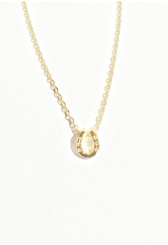 Horseshoe Charm Necklace