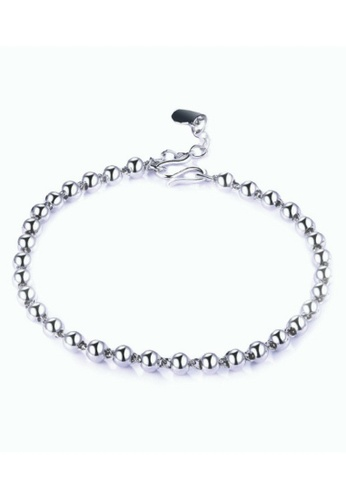 Vivere Rosse silver Glam Up Beaded Bracelet VI014AC39TAUMY_1