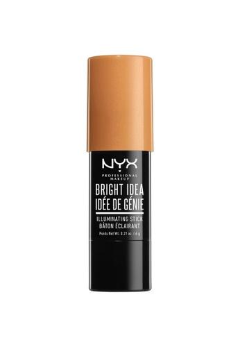 NYX Professional MakeUp beige Bright Idea Stick - Sun Kissed Crush 9A9ADBEE467EFBGS_1