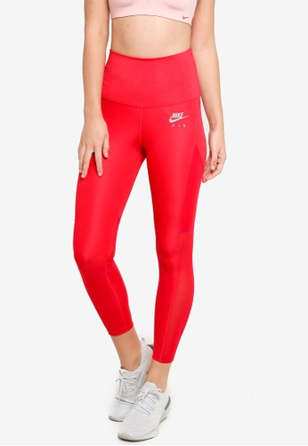 Nike red Women's Air Dri-Fit 7/8 Tights E97EBAA12AD99AGS_1