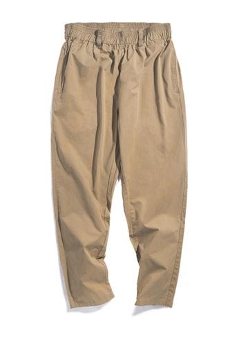 Twenty Eight Shoes brown VANSA  Japanese Solid Color Causal Pants  VCM-P2001004 8B040AAB46A484GS_1