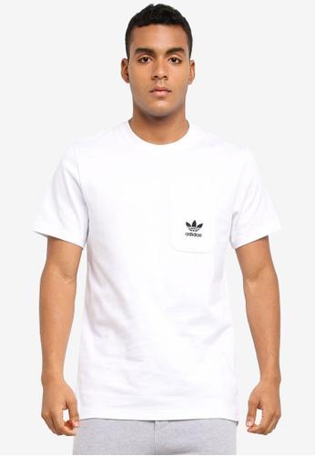 adidas white adidas originals d ss tee b AD372AA0SUNYMY_1