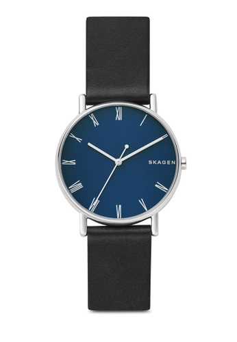 Skagen black Signatur Leather Watch SKW6434 6BF5BACDE32C0EGS_1