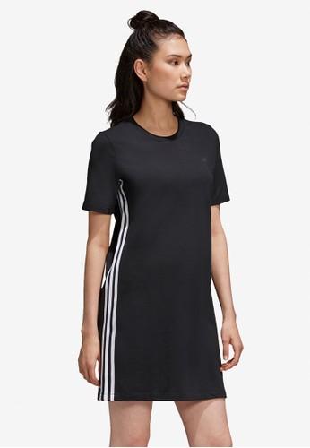 ADIDAS black tee dress CBD27AAAC8CFCEGS_1