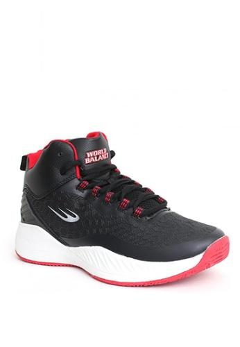 World Balance black Reverse Jam Shoes 97092SHED1590AGS_1