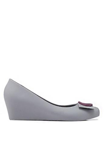 Twenty Eight Shoes grey Elegant Jelly Wedges 510A 5E2DASHE728A2FGS_1